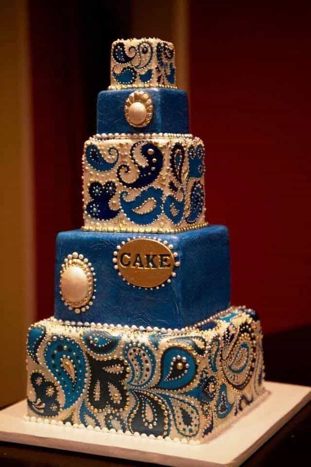 Mehndi Patterns For Cakes : Top fantastic henna wedding cake designs sheideas