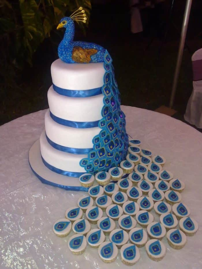 Top 33 Fantastic Henna Wedding Cake Designs