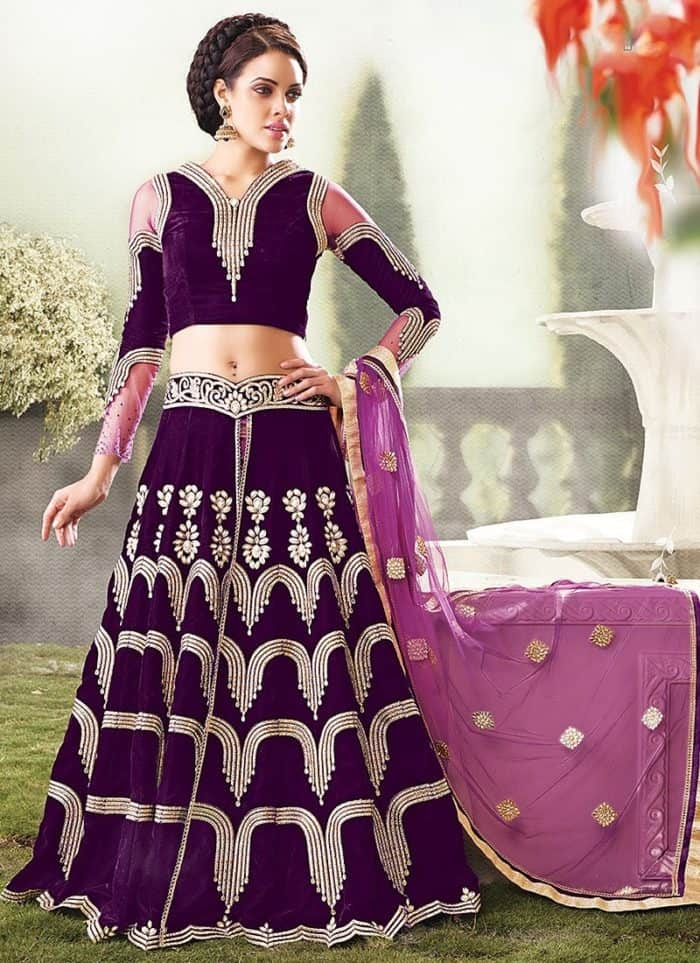 very nice lehenga choli design
