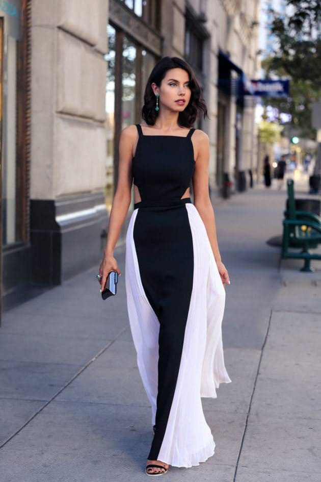 2016 Black and White Summer Outfits