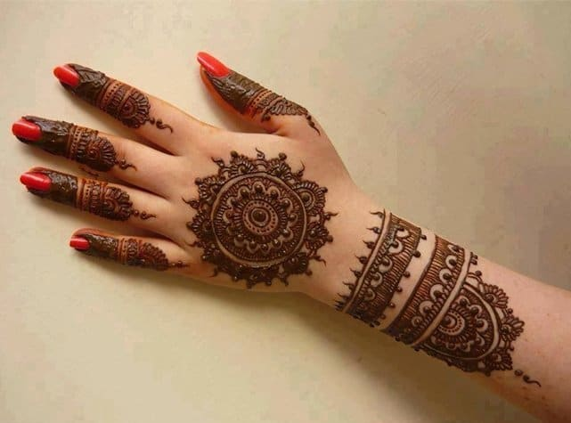 2016 Mehndi Bracelet Patterns Ideas