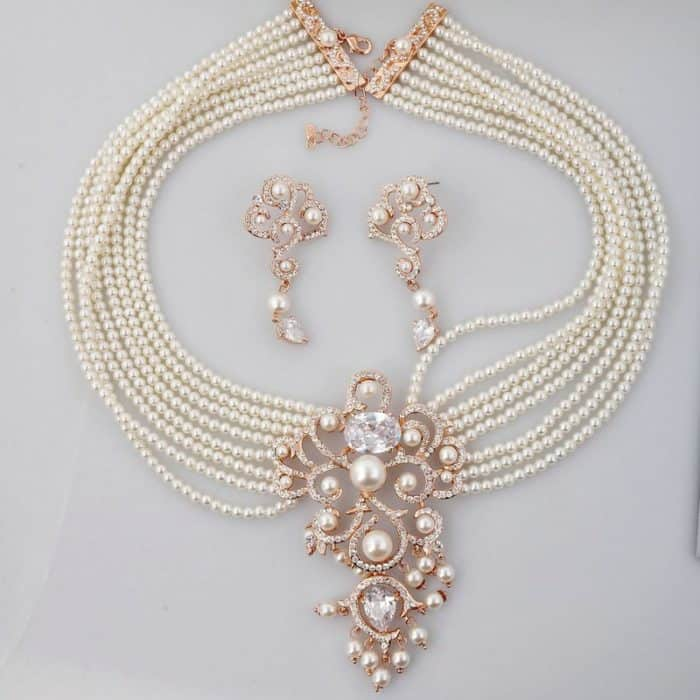 20 Beautiful Pearl Necklace Designs Ideas - SheIdeas