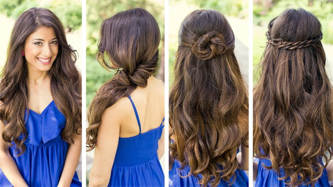 Amazing Easy Hairstyles for Summer 2016