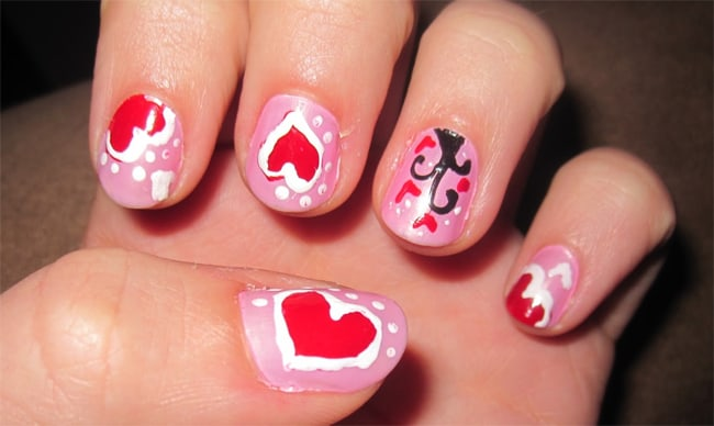 Amazing Easy Painted Nails Designs