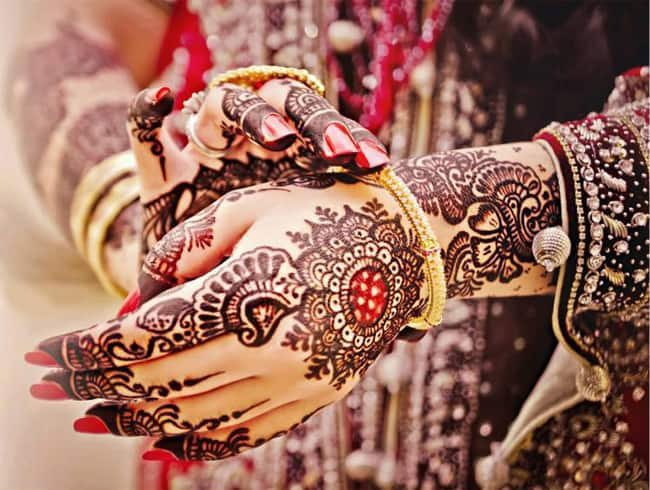Amazing Pakistani Bridal Mehndi Pictures