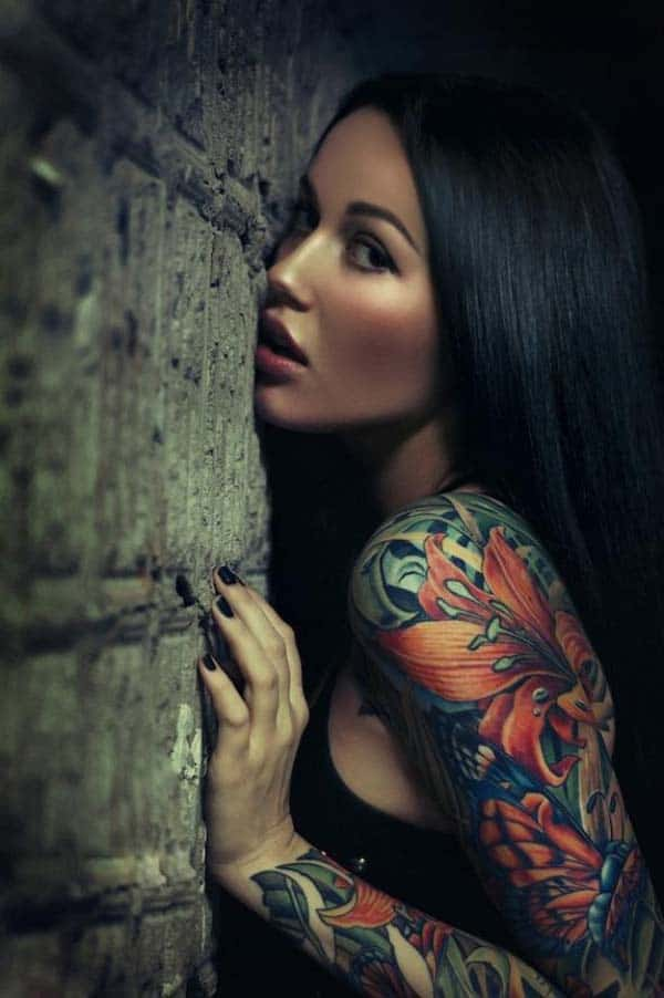 Amazing Sleeves Tattoo Designs for Ladies