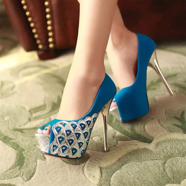 Amazing Wedding Sandals Shoes with Heels