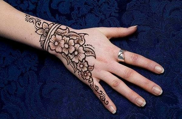 Arabic Mehndi Patterns for Girls 2016