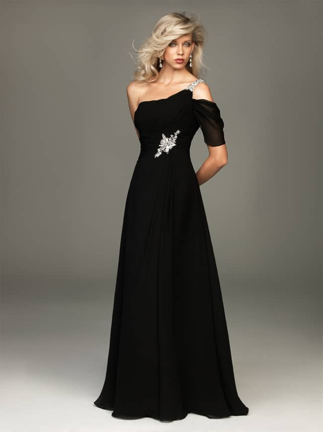 Awesome Black Evening Tie Dresses for Women