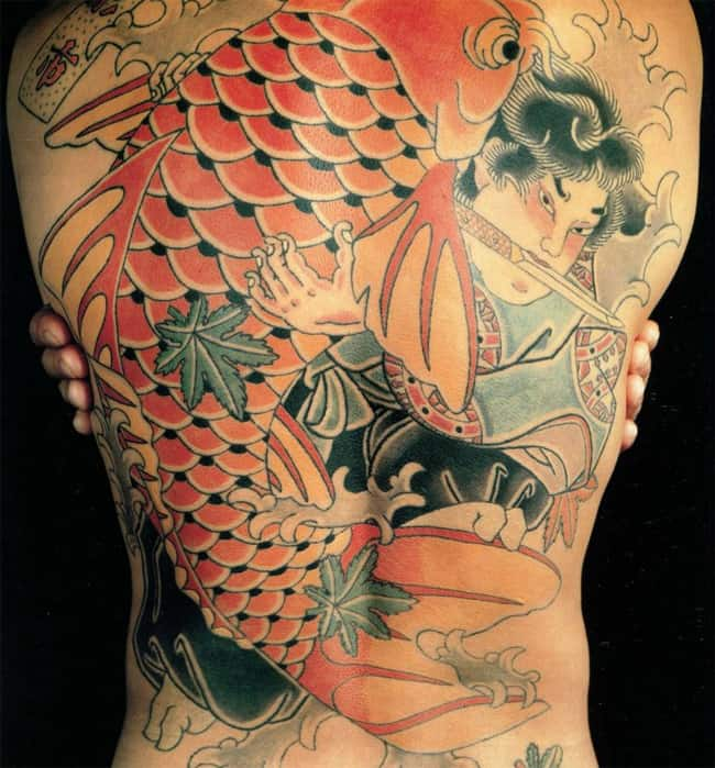 20 Modern Japanese Tattoo Designs Images