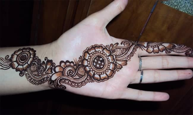 Awesome Mehndi Circle Designs for Wedding