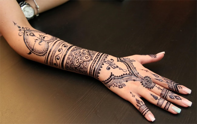 Beautiful Full Hnads Henna Tattoo Ideas