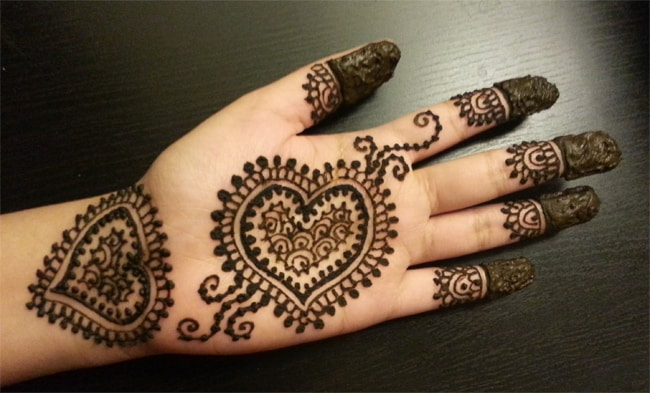 Beautiful Henna Designs for Front Hands 2016