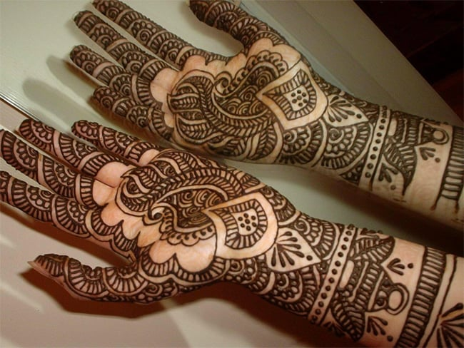Beautiful Mehndi New Pattern Ideas of 2016
