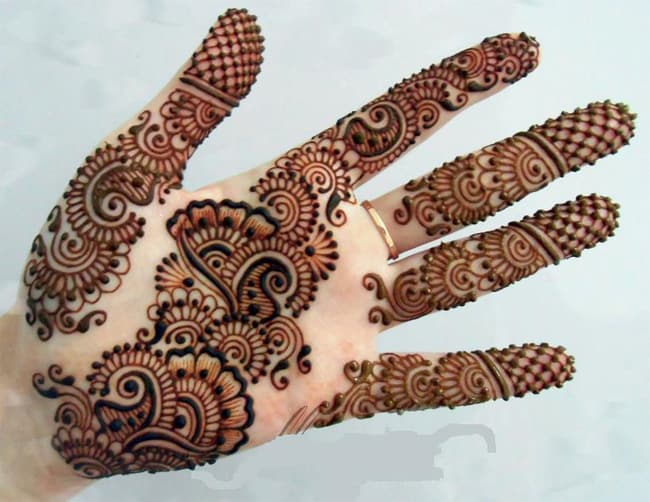Beautiful Pakistani Henna Designs for Hands