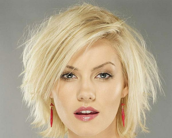 Beautiful Short Blonde Shaggy Hairstyles 2016