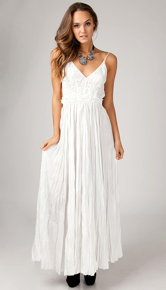 20 Awe-Inspiring White Summer Dresses 2016 – SheIdeas
