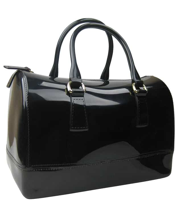 Black Satchel Handbag Design for Women
