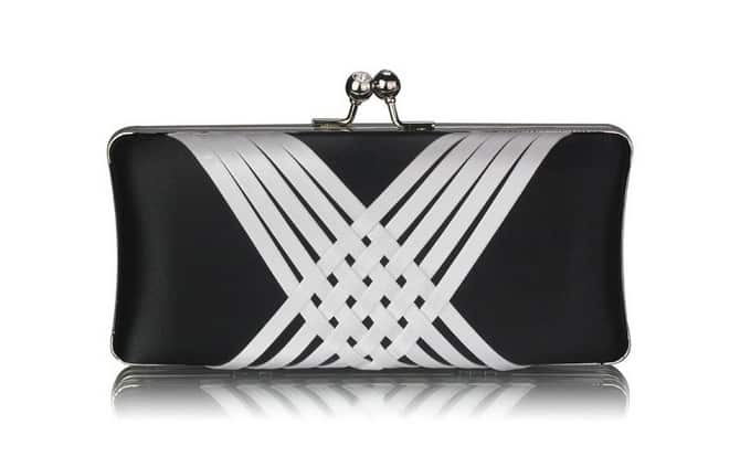 Black and White Evening Bags Ideas for Ladies