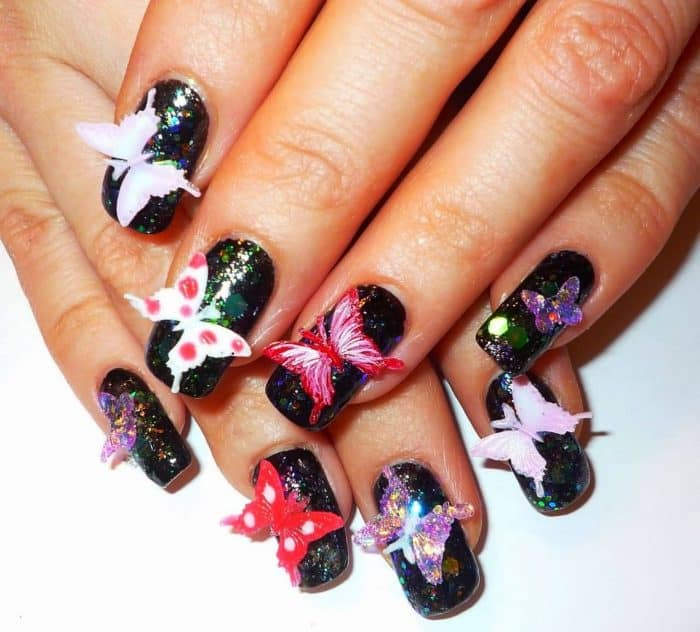 26 Impossible Japanese Nail Art Designs: 30 Cheerful 3D Nail Art Designs For Inspiration