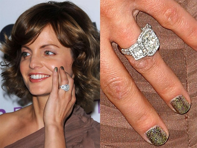 Celebrity Engagement Rings With Cushion Cut