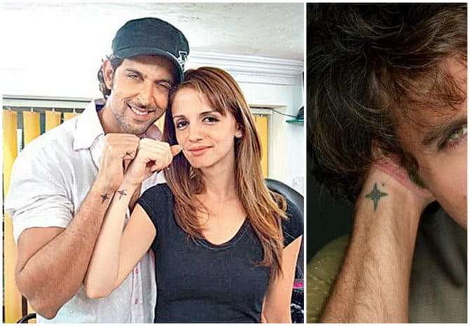 Celebrity Hrithik Roshan Tattoo on Wrist for Men