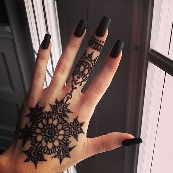 Cool Mehndi Easy Patterns for Beginners