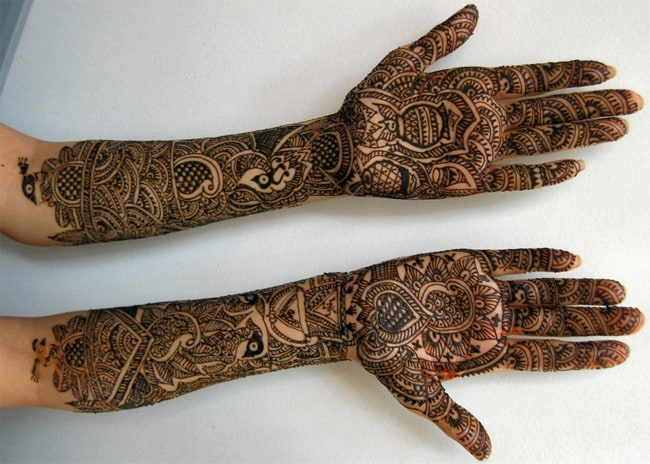 Cool Pakistani Bridal Mehndi Design Images