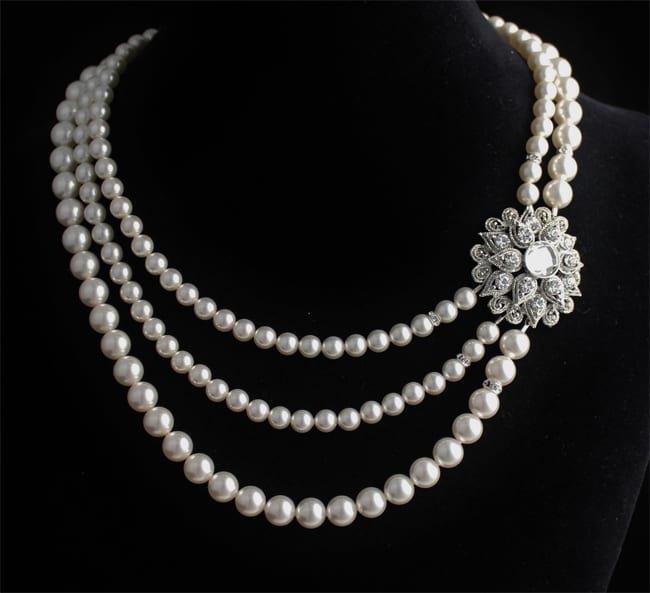 20 beautiful pearl necklace designs ideas sheideas - Cool designs for girls ...