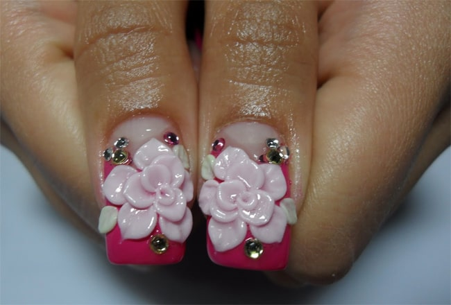 Creative 3D Nail Painting Ideas