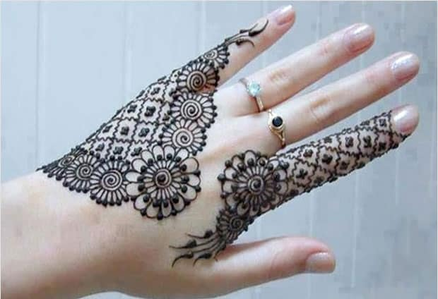 Creative Mehndi Designs in Circles Ideas 2016-17