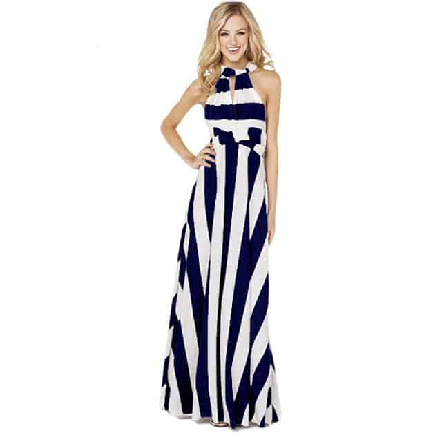 Creative Summer Maxi Dresses for Tall Ladies