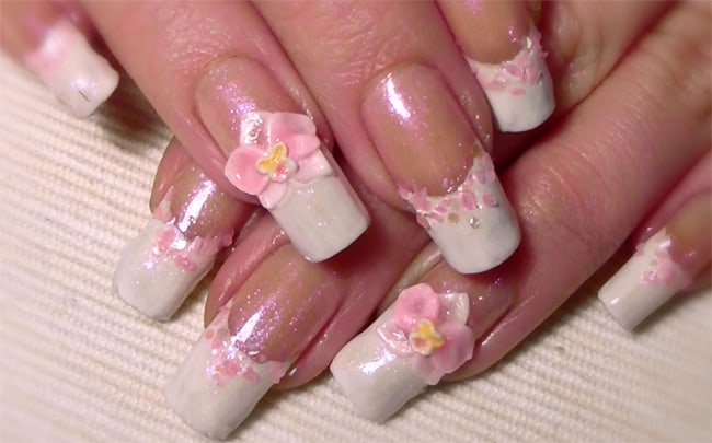 Cute 3D Acrylic Nail Designs for 2016-17