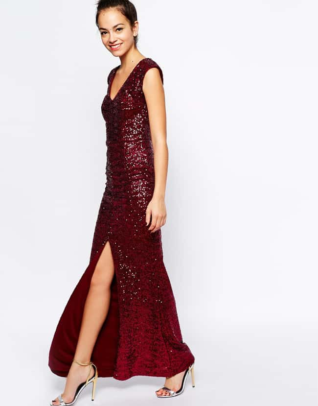 Cute Christmas Party Maxi Dresses Trends
