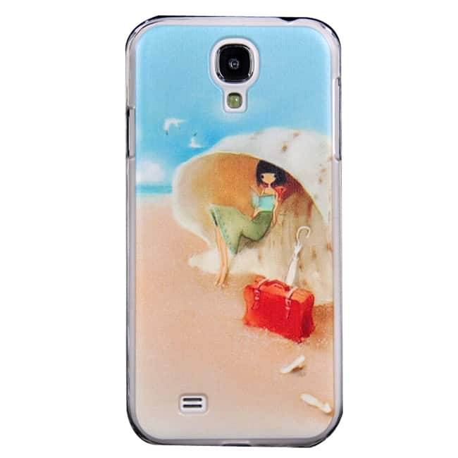 Cute Lady Painted Design Case for Girls