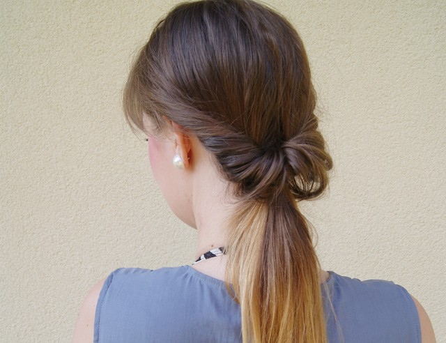 Cute Ponytail Ideas for Medium Length Hair