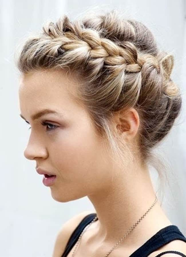 Cute and Easy Updos for Long Hair 2016-17