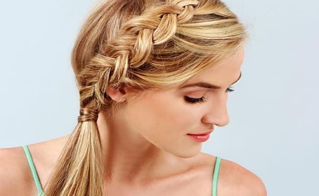 Easy French Ponytail Braid Hairstyles 2016