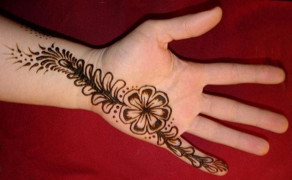 Easy Hands Mehndi Design for Party