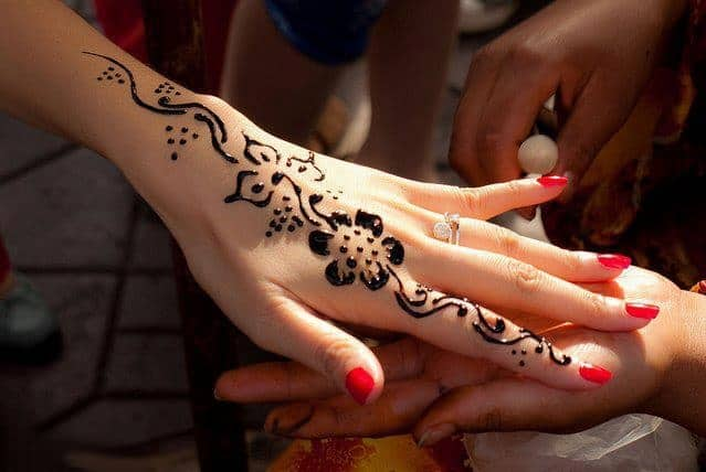 Fantastic Henna Hand Painting Designs