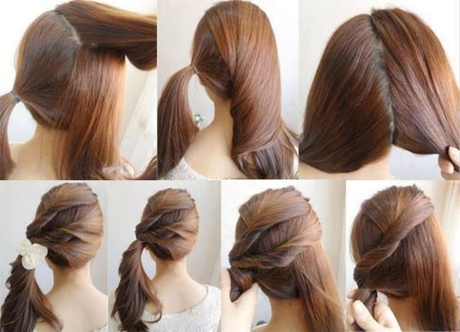 Amazing For Long Hair Step By Step Step By Step Different New Hair Styles