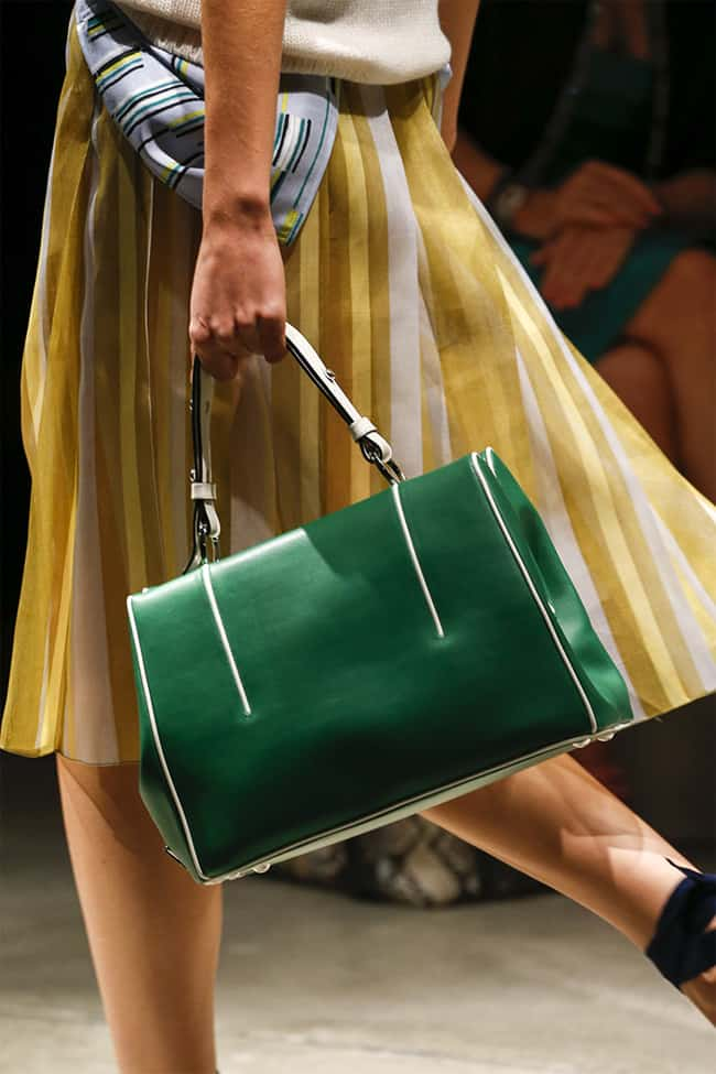 Fresh Green Handbags for Summer 2016-17