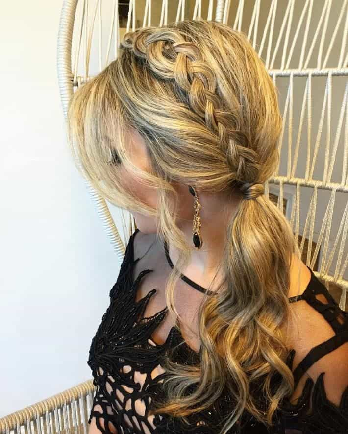 Side Ponytail Wedding Hairstyles: 20 Beautiful Ponytail Hairstyles For Ladies