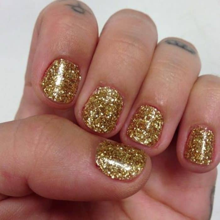 Nail Designs Ideas Gold And White