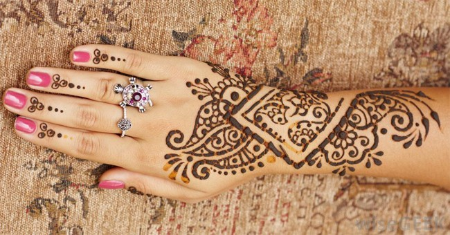 Great Bridal Henna Art Tattoos Images