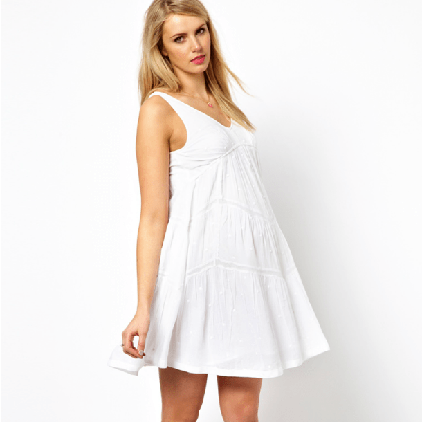 20 Awe-Inspiring White Summer Dresses 2016