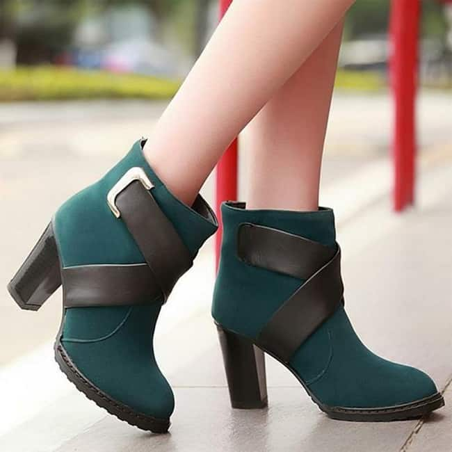 The boot obsession is real. Riding boots, combat boots, ankle boots, hiking boots, western booties, sock booties, knee-high boots, peep-toe booties, over-the-knee boots we love all boots and booties .