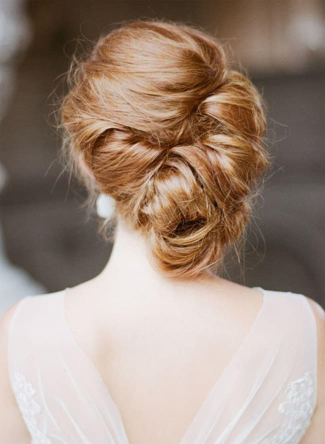 Latest Chic Updo Hairstyle for Wedding