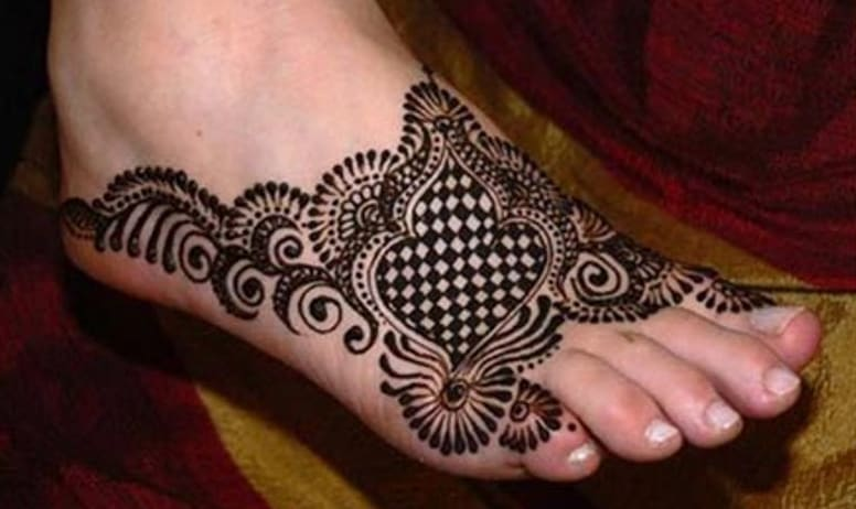 Latest Foot Mehndi Designs 2016