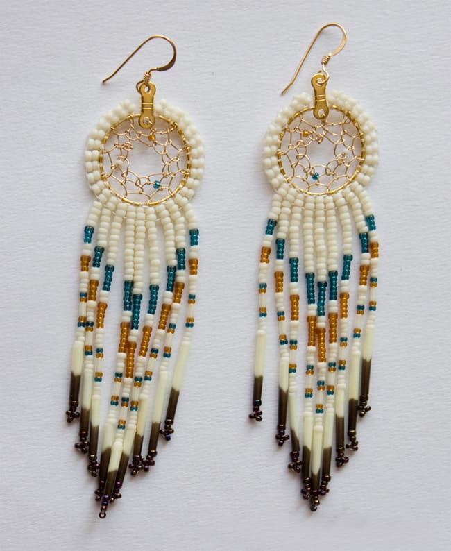 New Beaded Fringe Earrings for Girls 2016